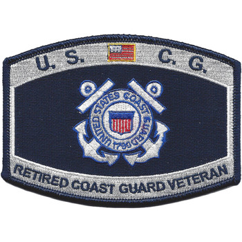 USCG Retired Veteran Patch