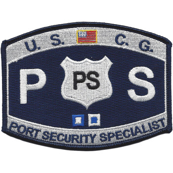 USCG Port Security Specialist MOS Patch