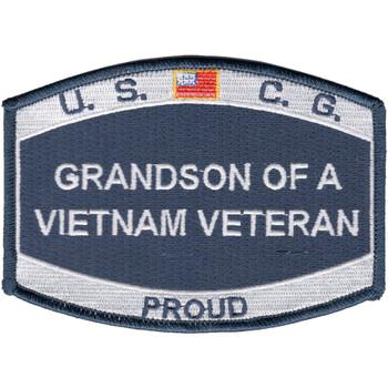 USCG Grand-Son Of A Vietnam Veteran Patch