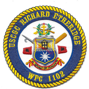 USCGC Richard Etheridge WPC-1102 Patch