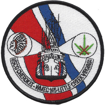 USCGC Cherokee WMEC 165 Second Version Patch