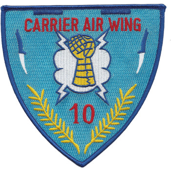 U.S. Carrier Air Wing 10 Patch