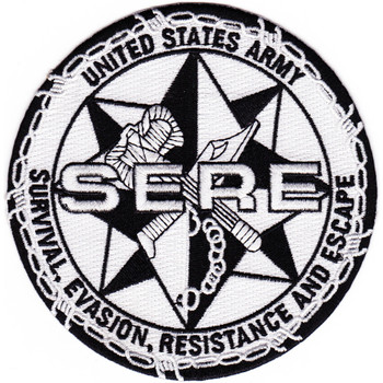 US ARMY SERE School Patch Survival Evasion Resistance Escape