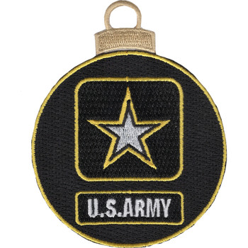 U.S. Army Emblem Christmas Tree Ornament
