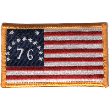 U.S. American Revolution of 1776 Flag Patch