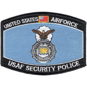 US Air Force MOS Security Police Patch