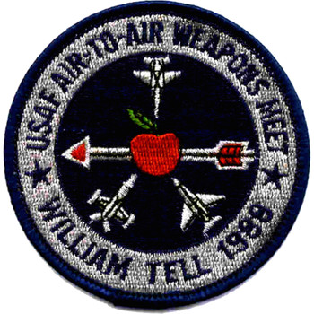 USAF Air-To-Air Weapons Meet 1988 Patch