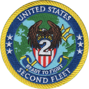 United States Second Fleet Patch