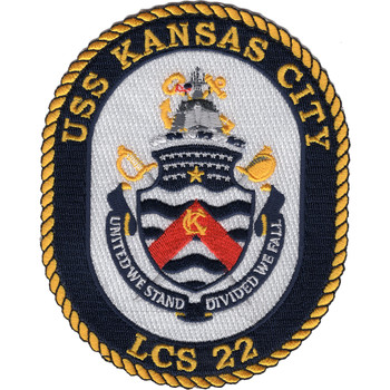 USS Kansas City LCS-22 Patch