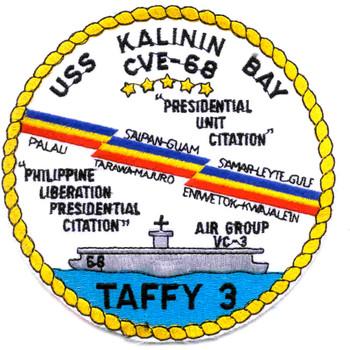 USS Kalinin Bay CVE-68 Patch