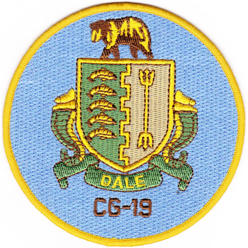 USS Dale CG-19 Patch