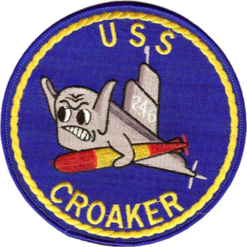 USS Croaker SS-246 Diesel Electric Submarine Patch