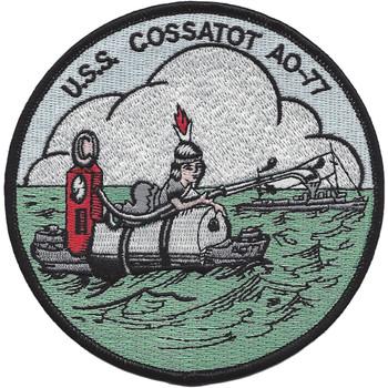 USS Cossatot AO-77 Fleet Oiler Patch