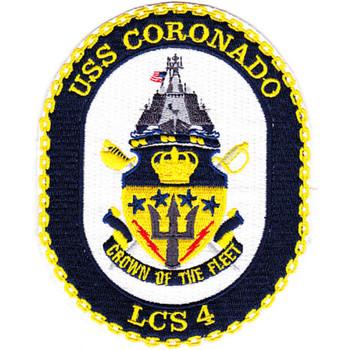 USS Coronado LCS-4 Patch