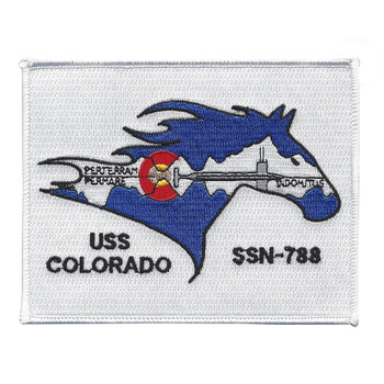 USS COLORADO SSN-788 Nuclear Attack Submarine Patch