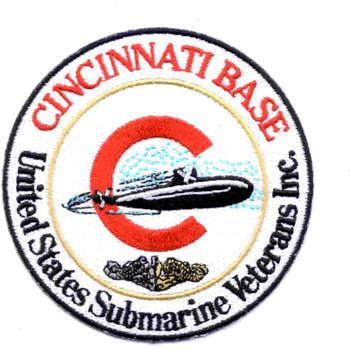 USS Cincinnati Veterans Base Patch