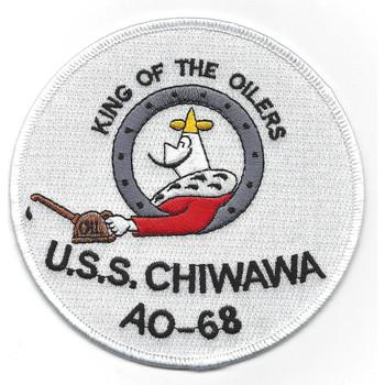 USS Chiwawa AO-68 Patch