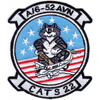 6th Squadron 52nd Aviation Regiment A Company Patch Cats 22