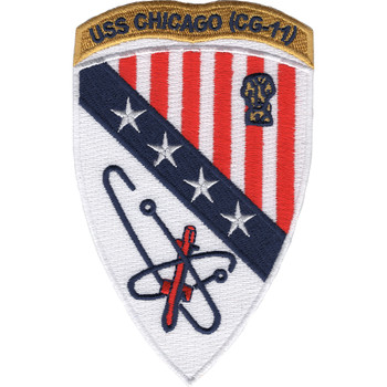 USS Chicago CG-11 Patch