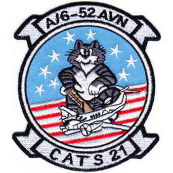 6th Squadron 52nd Aviation Regiment A Company Patch Cats 21