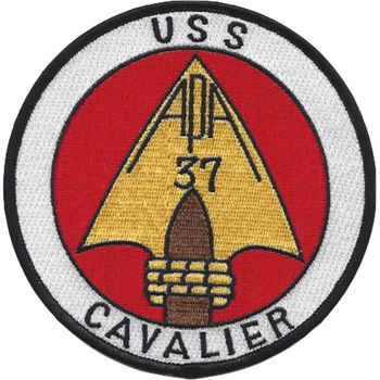 USS Cavalier APA-37 Patch