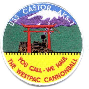 USS Castor AKS-1 Patch