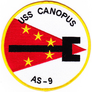USS Canopus AS-9 Patch