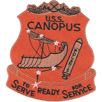 USS Canopus AS-34 Patch