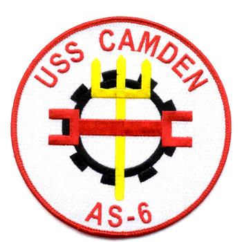 USS Camden AS-6 Patch