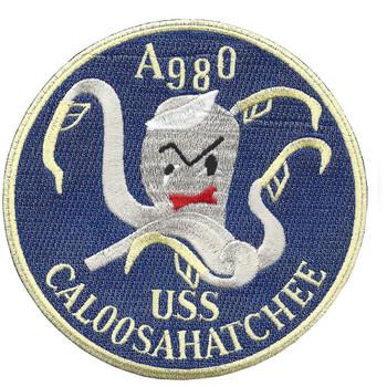 USS Caloosahatchee AO 98 Auxiliary Oiler Ship Patch