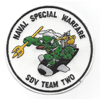 UDT 2 Underwater Demolition Team Unit Two Patch