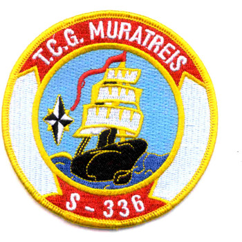 Turkish Navy S-336 TCG Murat Reis Patch