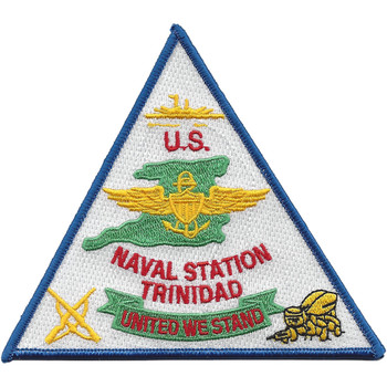 Trinidad Station Of Trinidad And Tobago Caribbean Patch