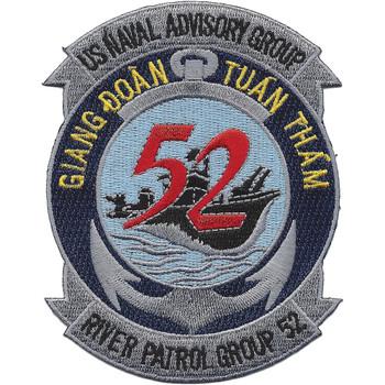 52nd River Patrol Group Vietnam Patch