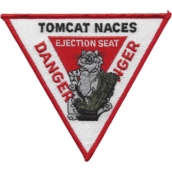 Tomcat Naces Ejection Seat Sign Patch