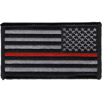 Thin Red Line Firefighter patch Right Should Revers Facing