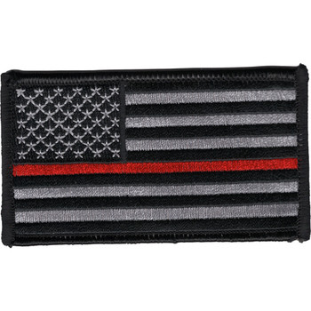 Thin Red Line Firefighter Patch