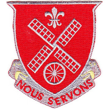 52nd Engineer Battalion Patch