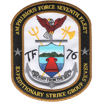 TF-76 Amphibious Force Seventh Fleet Patch