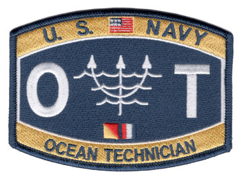Technical Specialist Rating Ocean Technician Patch