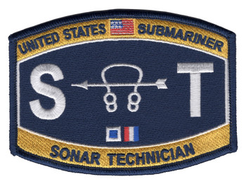 Technical Rating Submarine Sonar Technician Patch