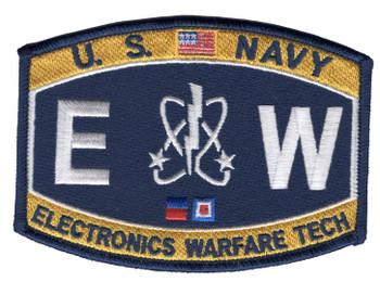 Technical Deck Rating Electronics Warfare Technician Patch