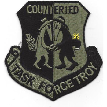Task Force Troy Counter Improvised Explosive Device Patch Acu