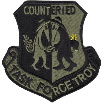 Task Force Troy Counter IED ACU Patch Hook And Loop