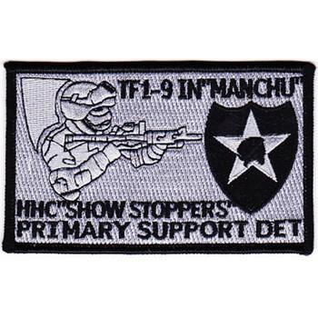 Task Force 1-9th Infantry Regiment Patch