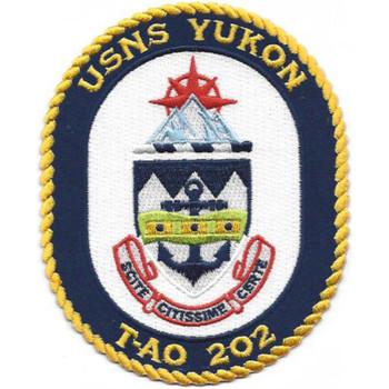 T-AO 202 USNS Yukon Patch