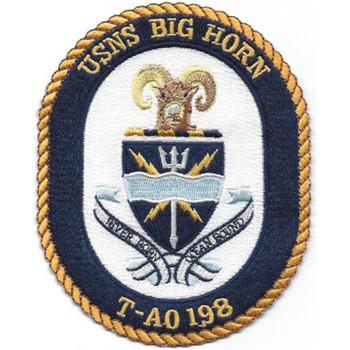 T-AO 198 USNS Big Horn Patch