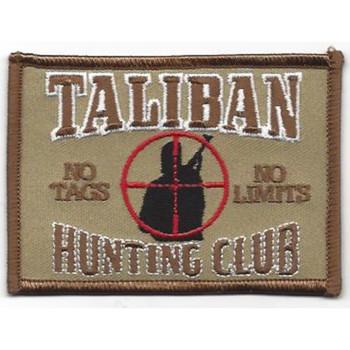 Taliban Hunting Club Desert Patch