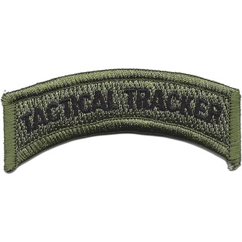 Tactical Tracker OD Rocker Patch