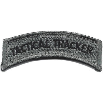 Tactical Tracker ACU Rocker Patch Hook And Loop